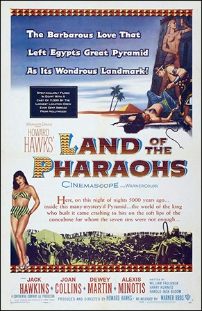 Cartel de Tierra de faraones