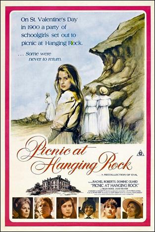 Cartel original de Picnic en Hanging Rock