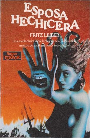 Esposa hechicera, portada de la mitica coleccion Super Terror, de Martinez Roca