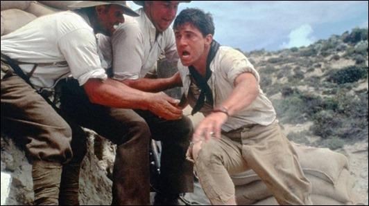 Mel Gibson corre para llevar el ultimo mensaje en Gallipoli