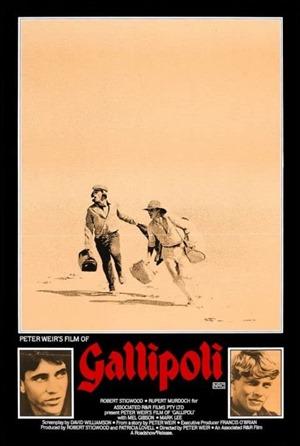 Poster original de Gallipoli