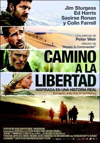 Cartel hispano de Camino a la libertad