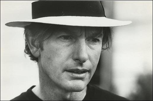 Peter Weir, durante el rodaje de Unico testigo