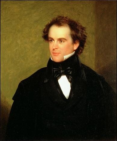 Retrato del joven Hawthorne, por Charles Osgood
