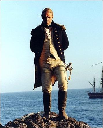 Russell Crowe, la estrella de Master and Commander