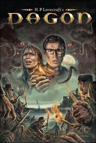 Buen dibujo para un poster de Dagon, la secta del mar