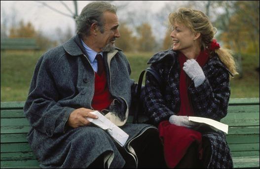 Connery y Pfeiffer, en La Casa Rusia