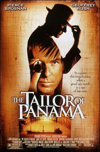El sastre de Panama, cartel ingles