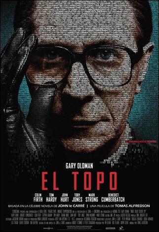 Estupendo cartel hispano de El topo