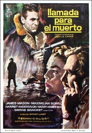 Llamada para el muerto, cartel hispano