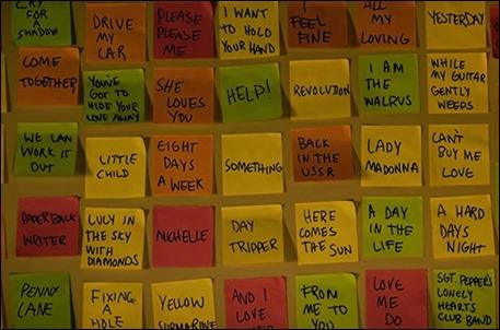 Menuda coleccion de canciones la de Yesterday