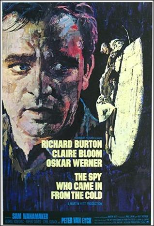 Poster ingles de El espia que surgio del frio