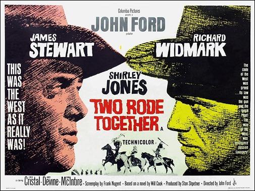 Dos cabalgan juntos, un memorable John Ford