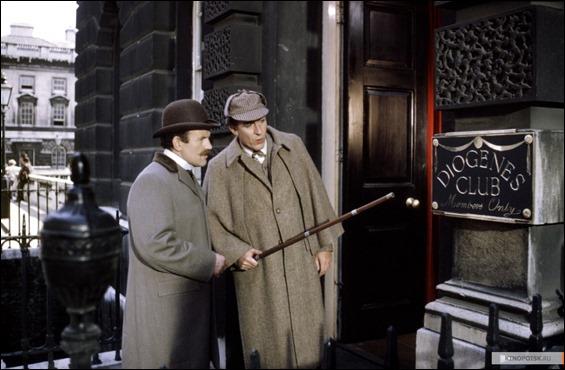 Holmes y Watson ante el Club Diógenes