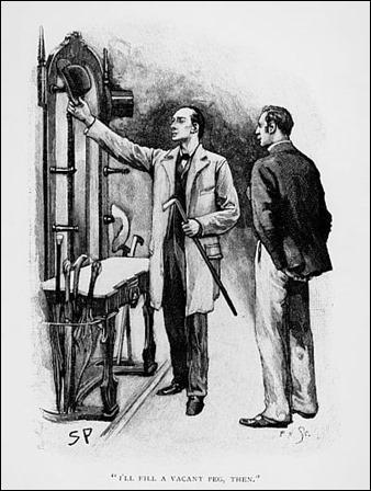 Holmes y Watson, por Sidney Paget