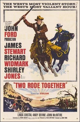 Poster americano de Dos cabalgan juntos